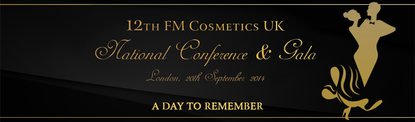 FM Cosmetics UK National Conference, London 2014